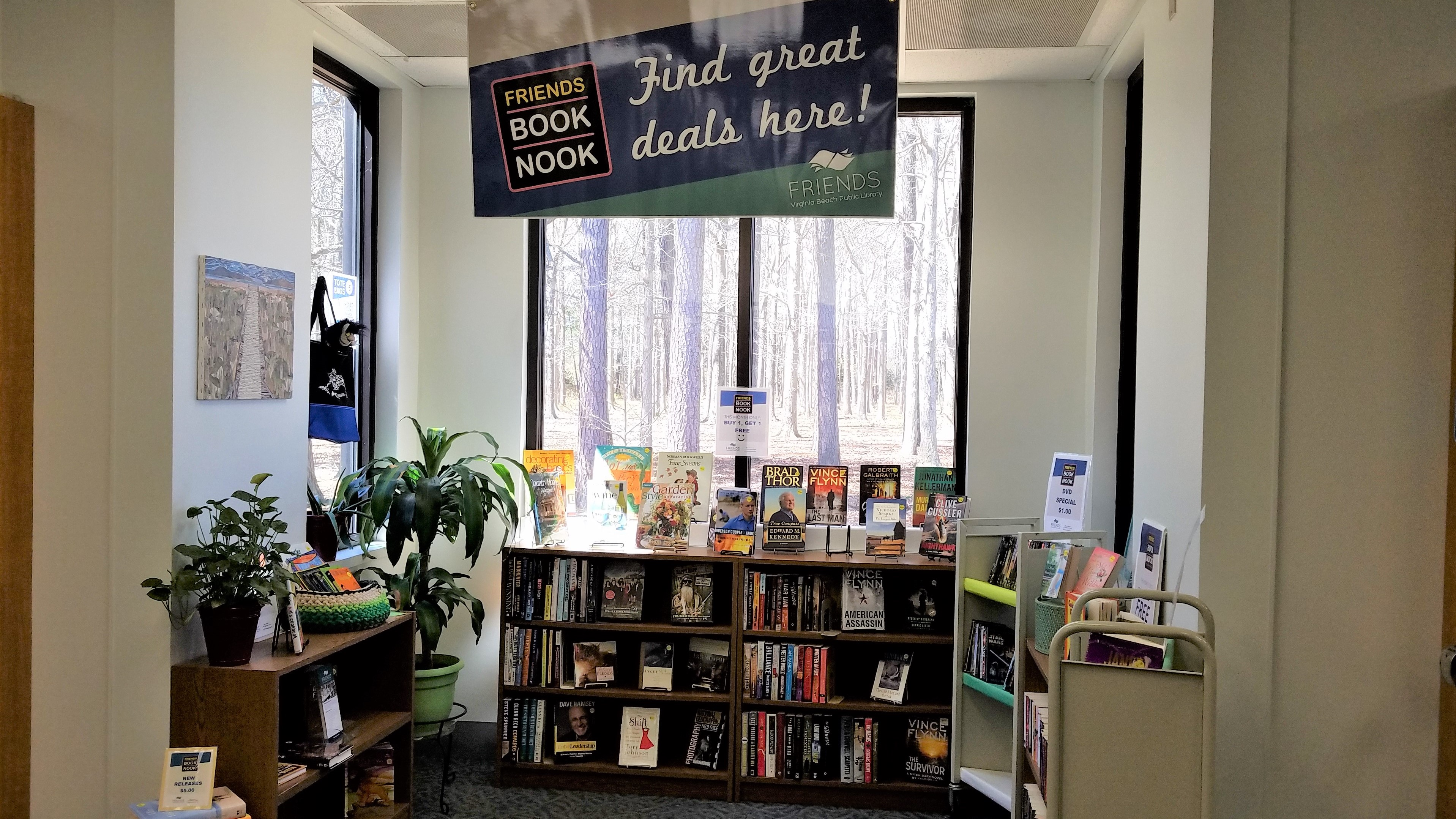 Book Nook shop
